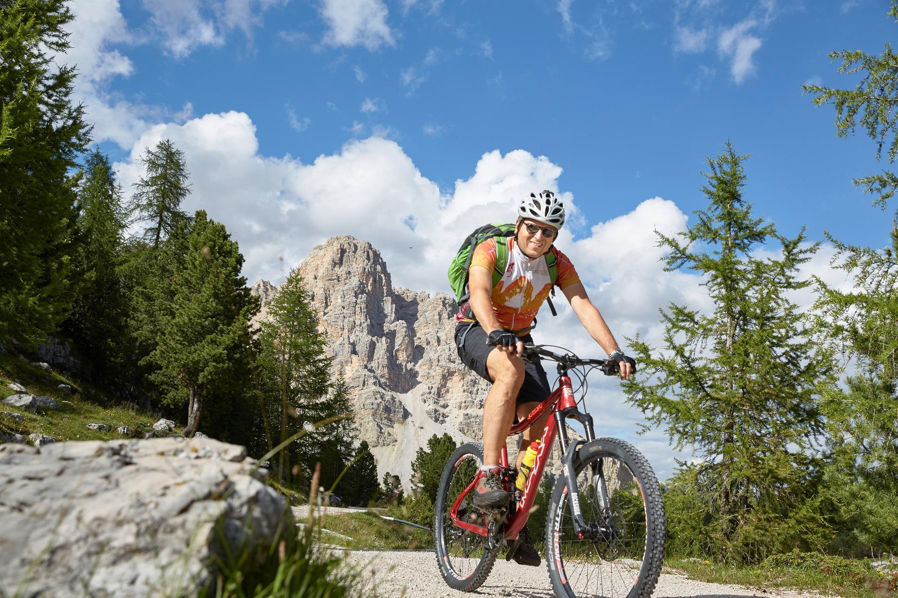 Mountain bike Tour rund um den Kronplatz mit Raimund Wochenprogramm