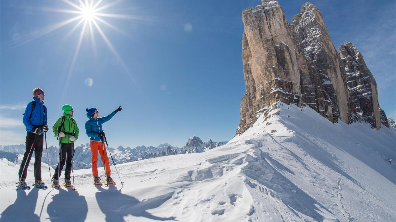 Event Snow shoe hike to the Tre Cime