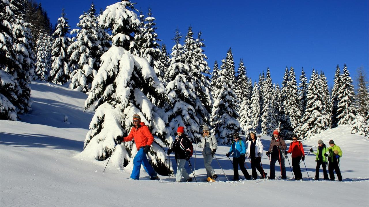 Event Snowshoeing in the Dolomites