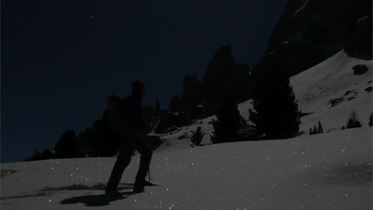 Event Easy snow-shoe hike in the moonlight