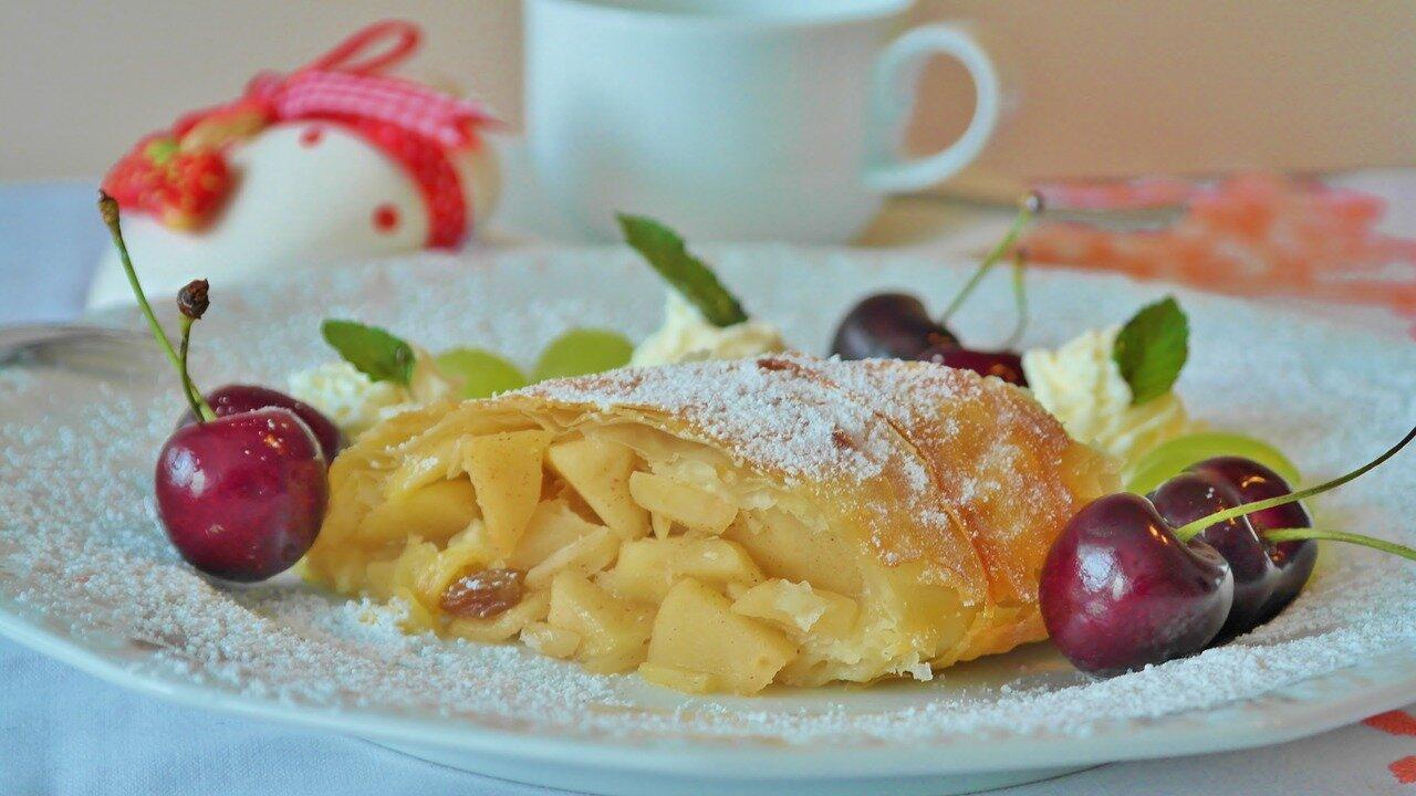 Event Zubereitung Südtiroler Apfelstrudel