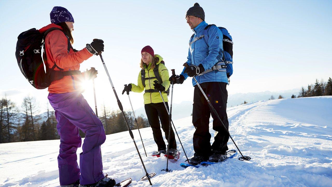 Event Schneeschuhwanderung Dolomiten