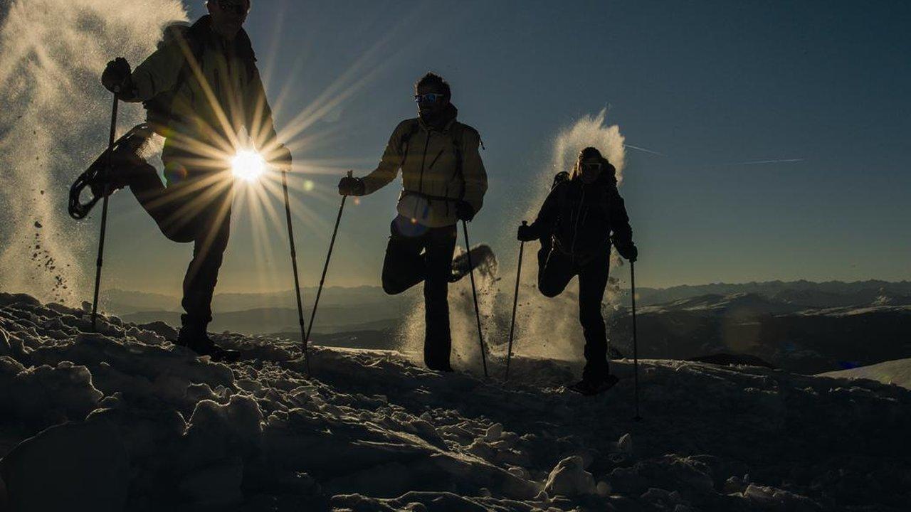 Event Schneeschuhwanderung Enrosadira