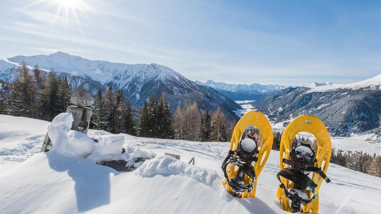 Event Snow-shoe hike and Pöckl sledging