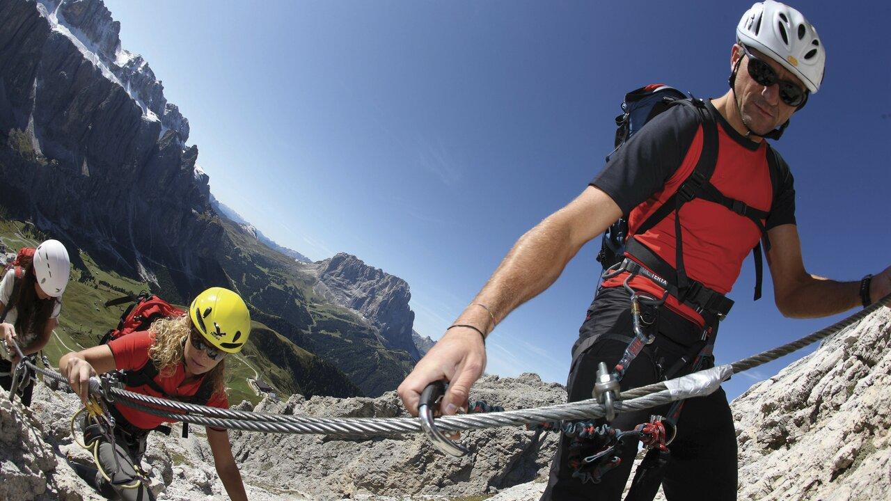 Event Geführter Klettersteig