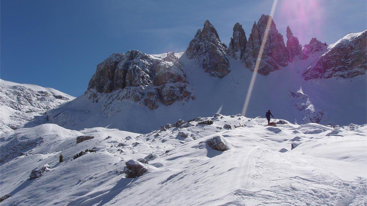 Event Freeriden in den Dolomiten