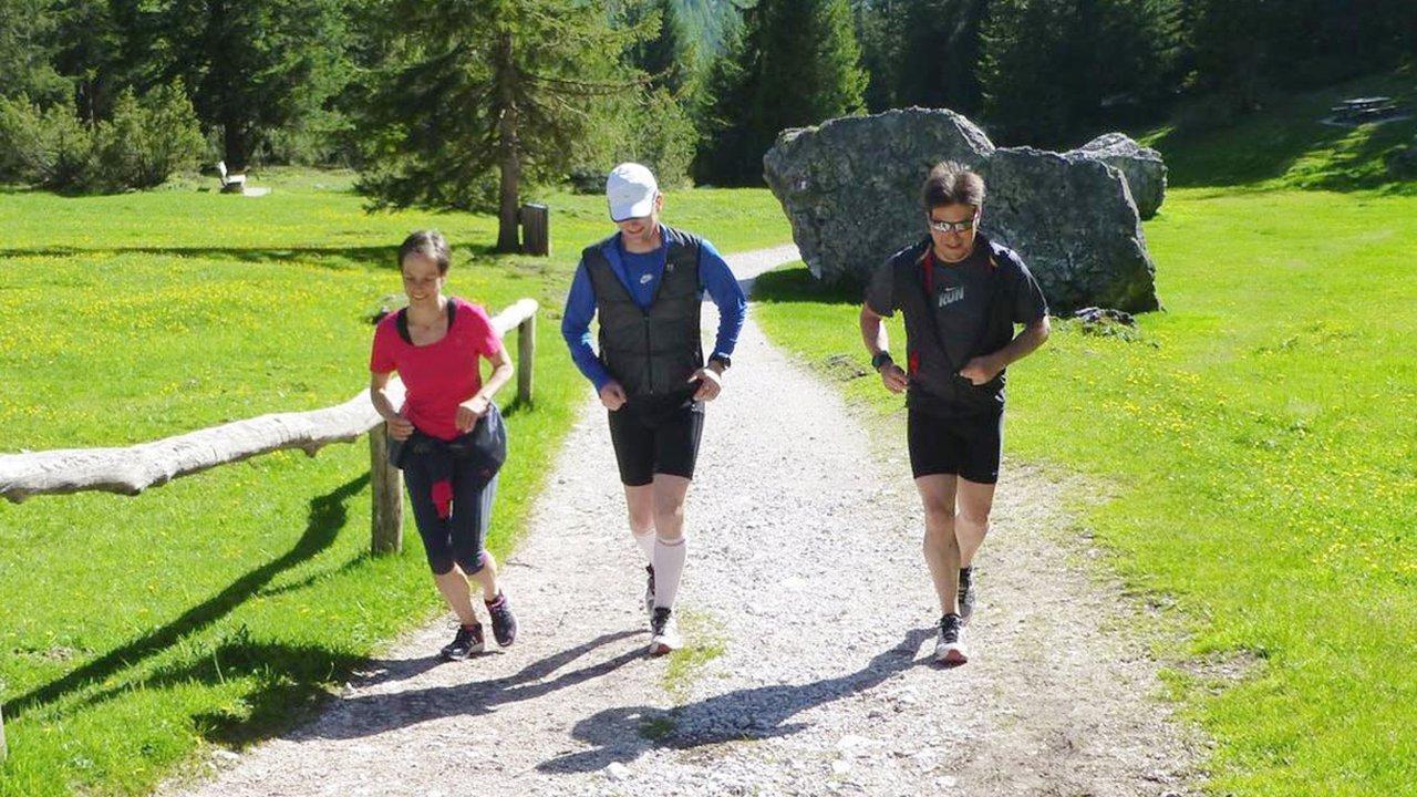 Event Jogging im Naturpark
