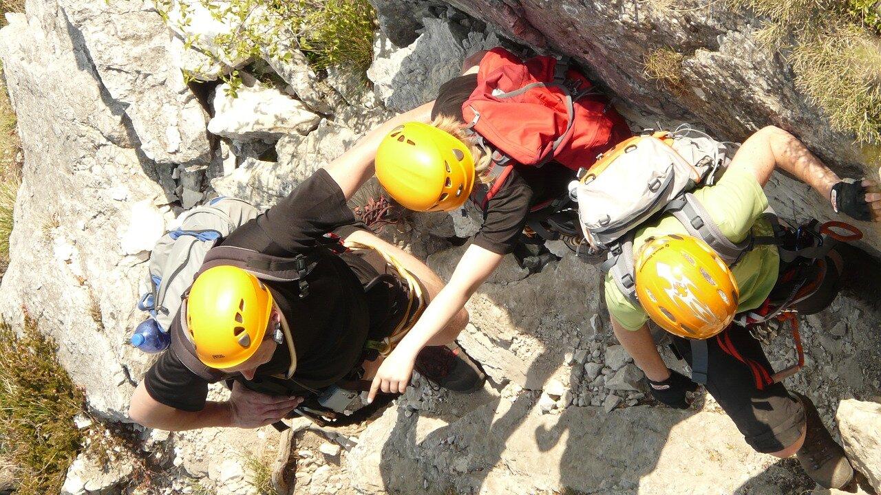 Event Rock climbing course