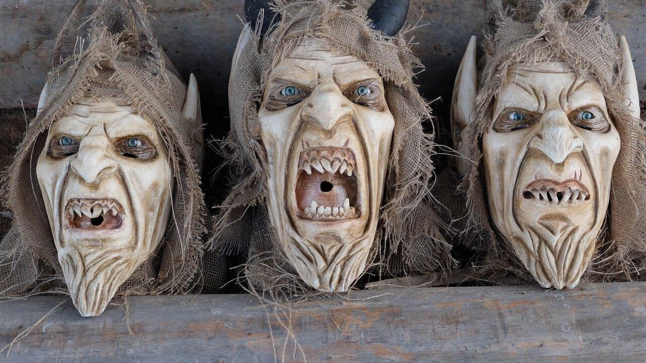 Event Krampusmaskenausstellung