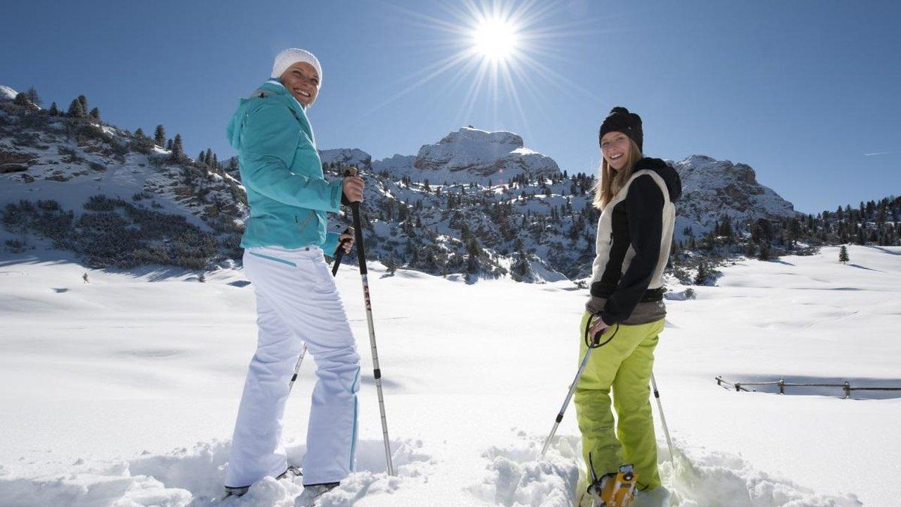 Event Snow shoe walk - Cima Lasta