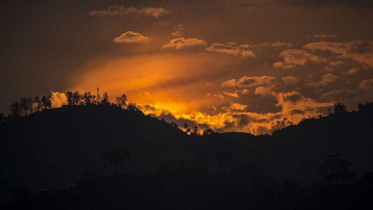 Event Wanderung bei Sonnenuntergang