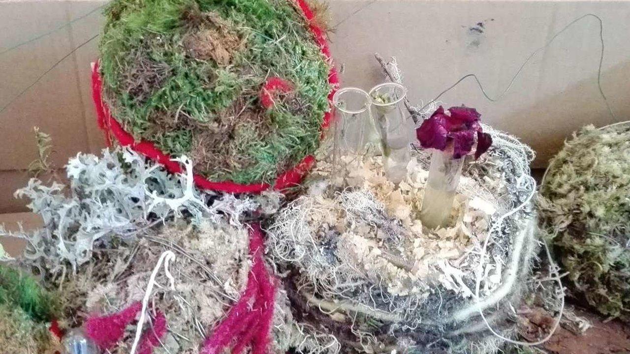 Event Basteln mit Naturmaterialien