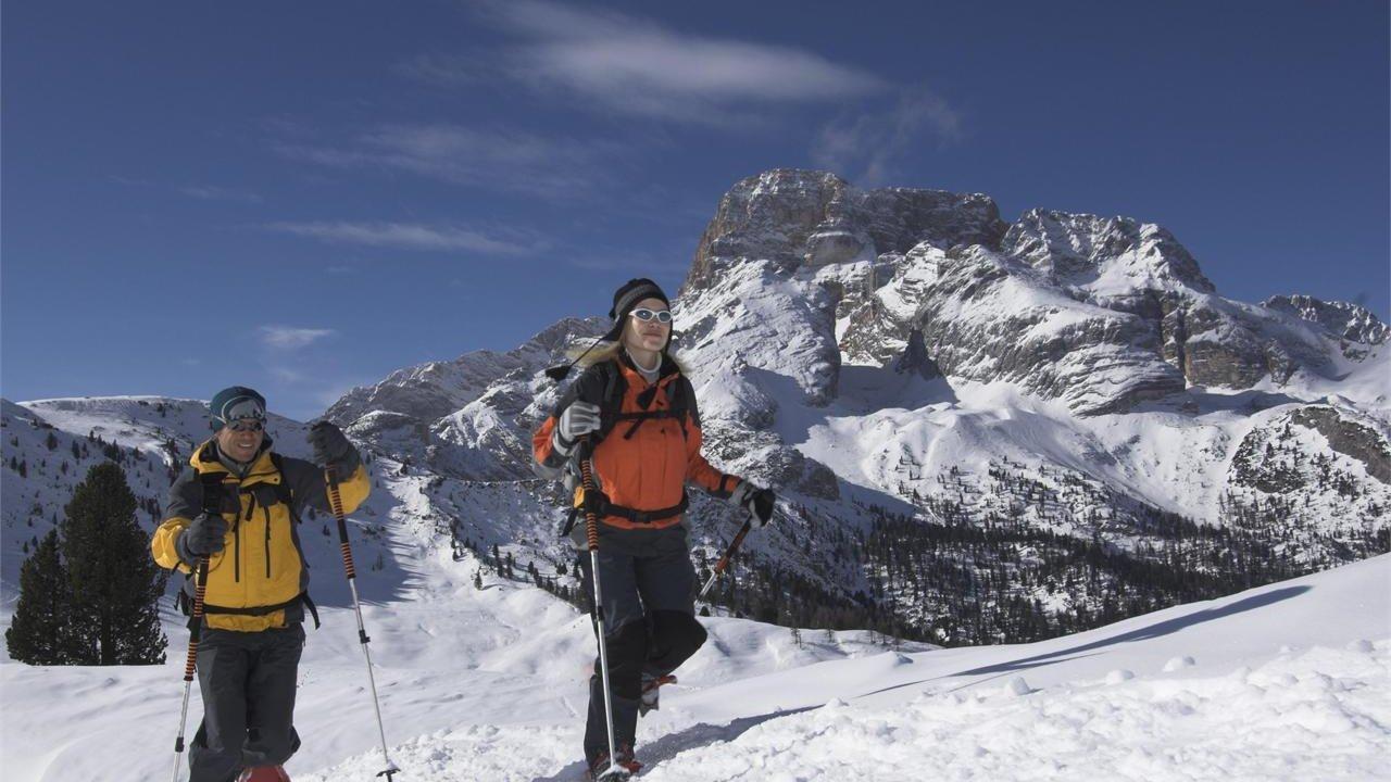 Event Schneeschuhwandern in den Dolomiten