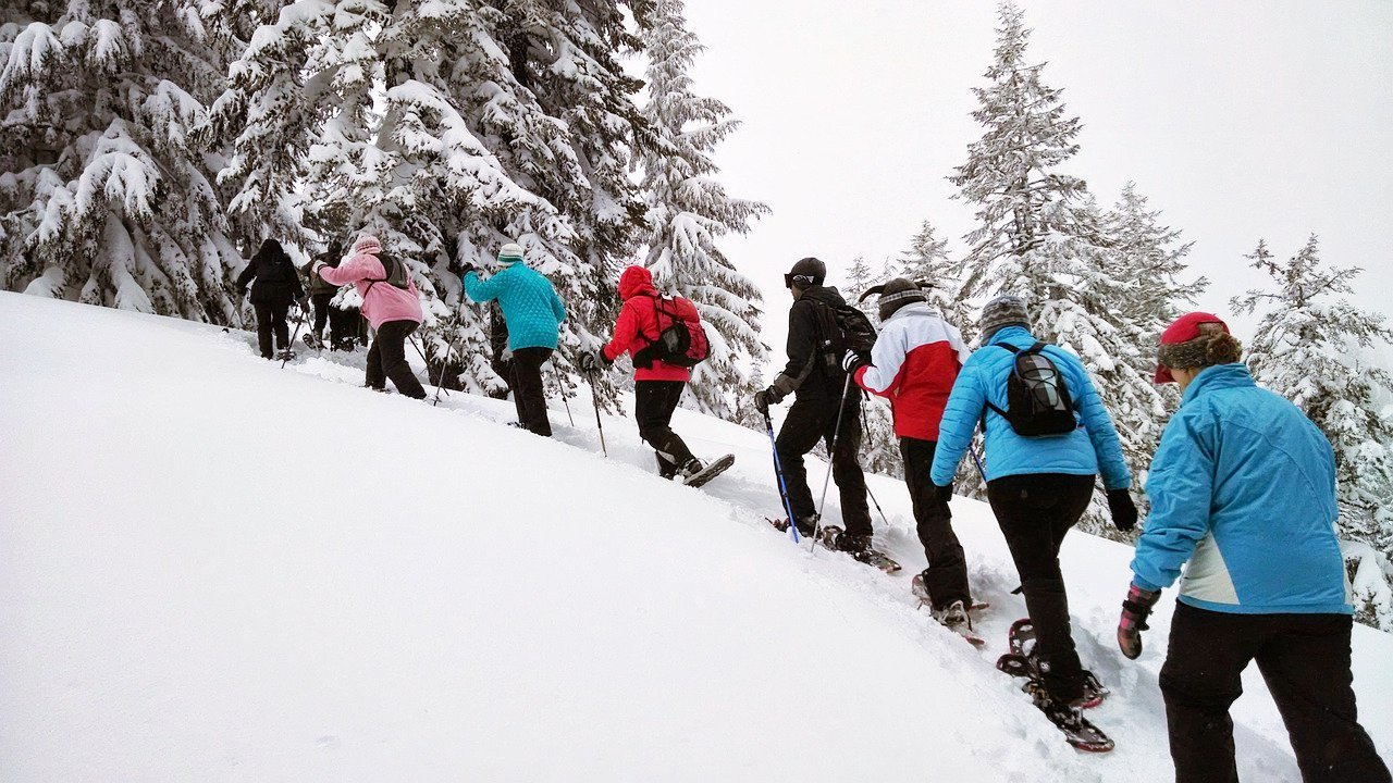 Event Snow shoe hiking with the