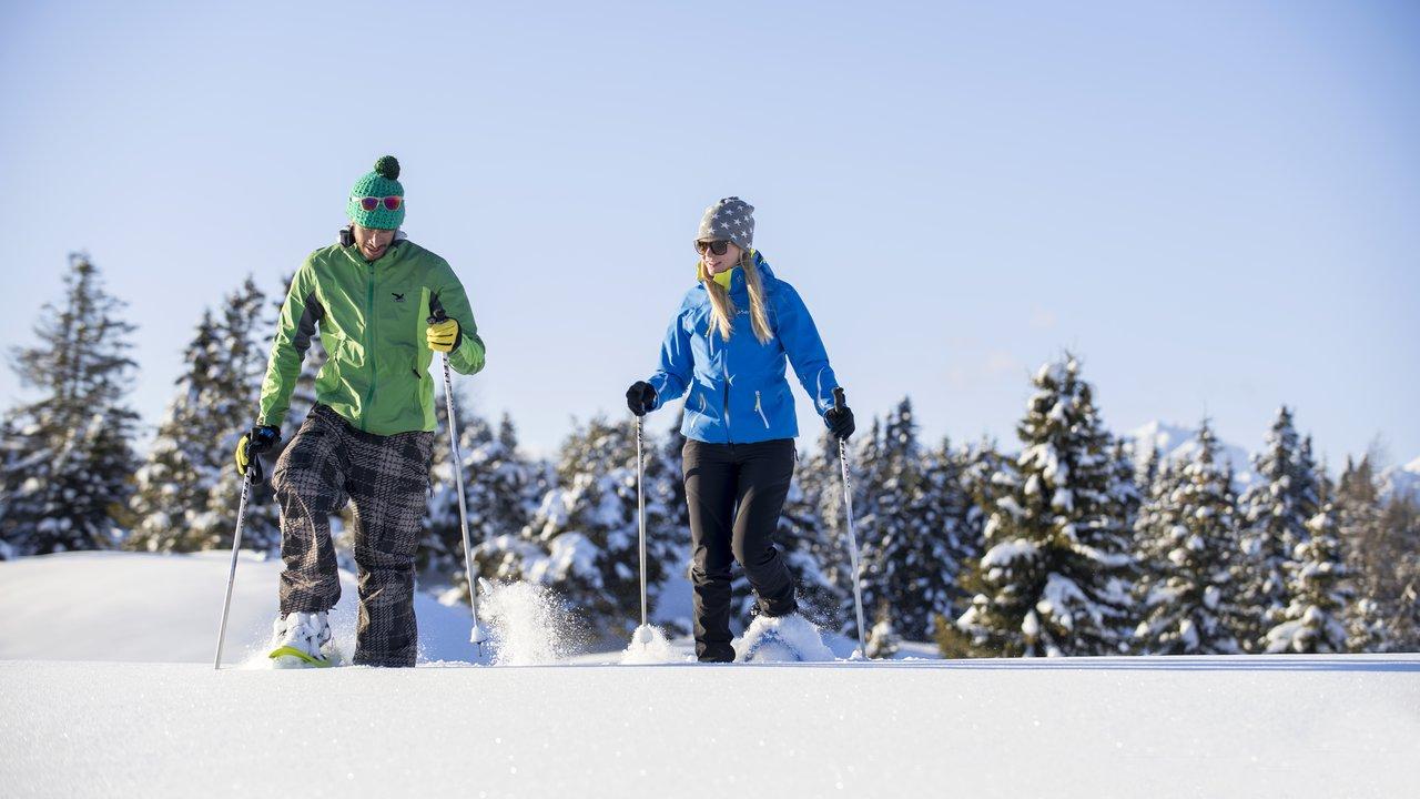 Event Schneeschuhwanderung am Gitschberg