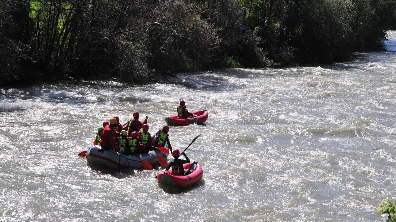 Event Rafting durchs untere Pustertal