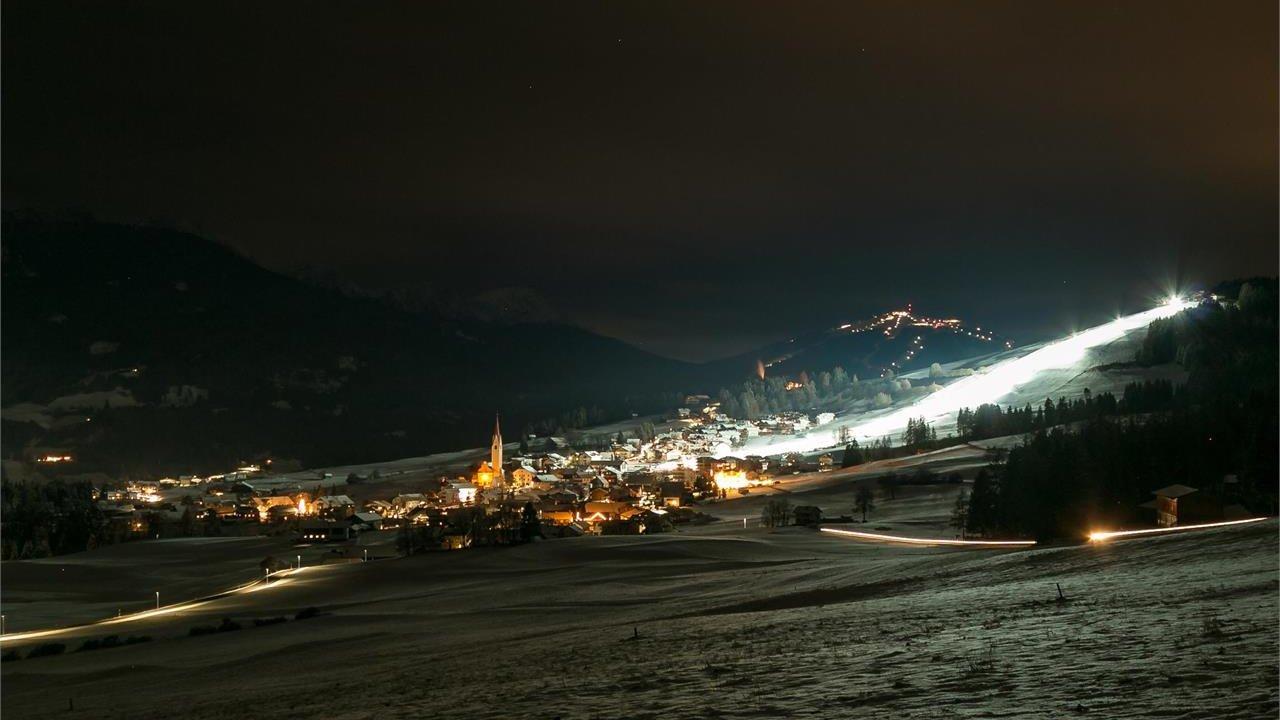Event Ski by night in Tesido