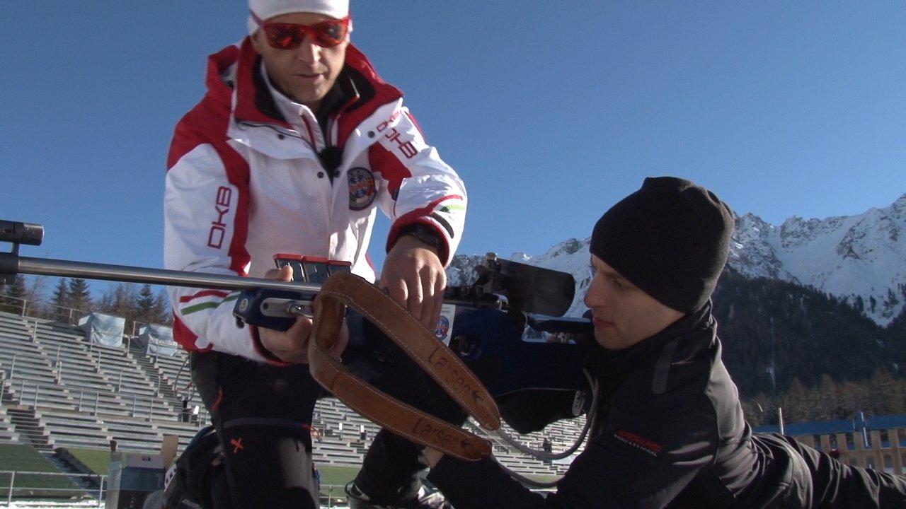 Event Biathlon-Tiro al poligono