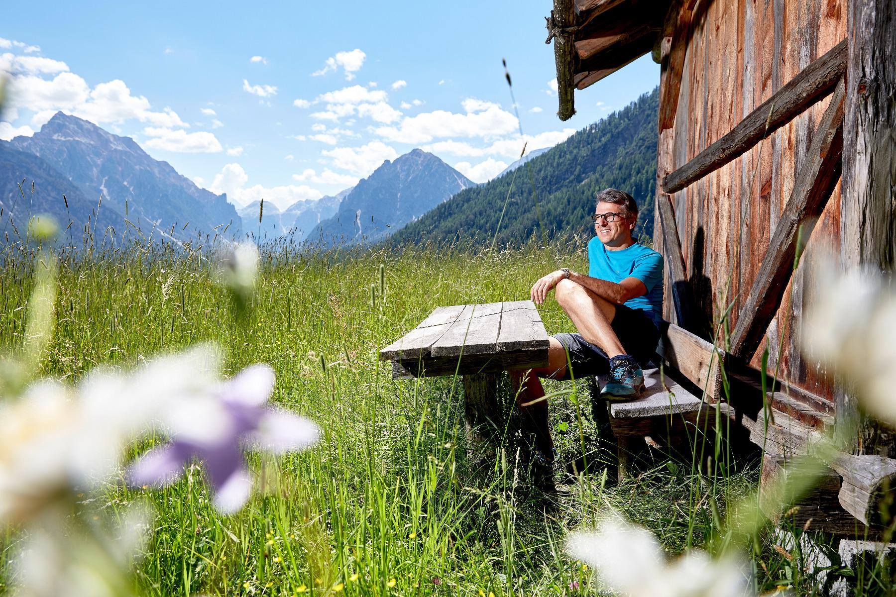 Walk in the Dolomites with Mrs. and Mr. Call and Willi week programm