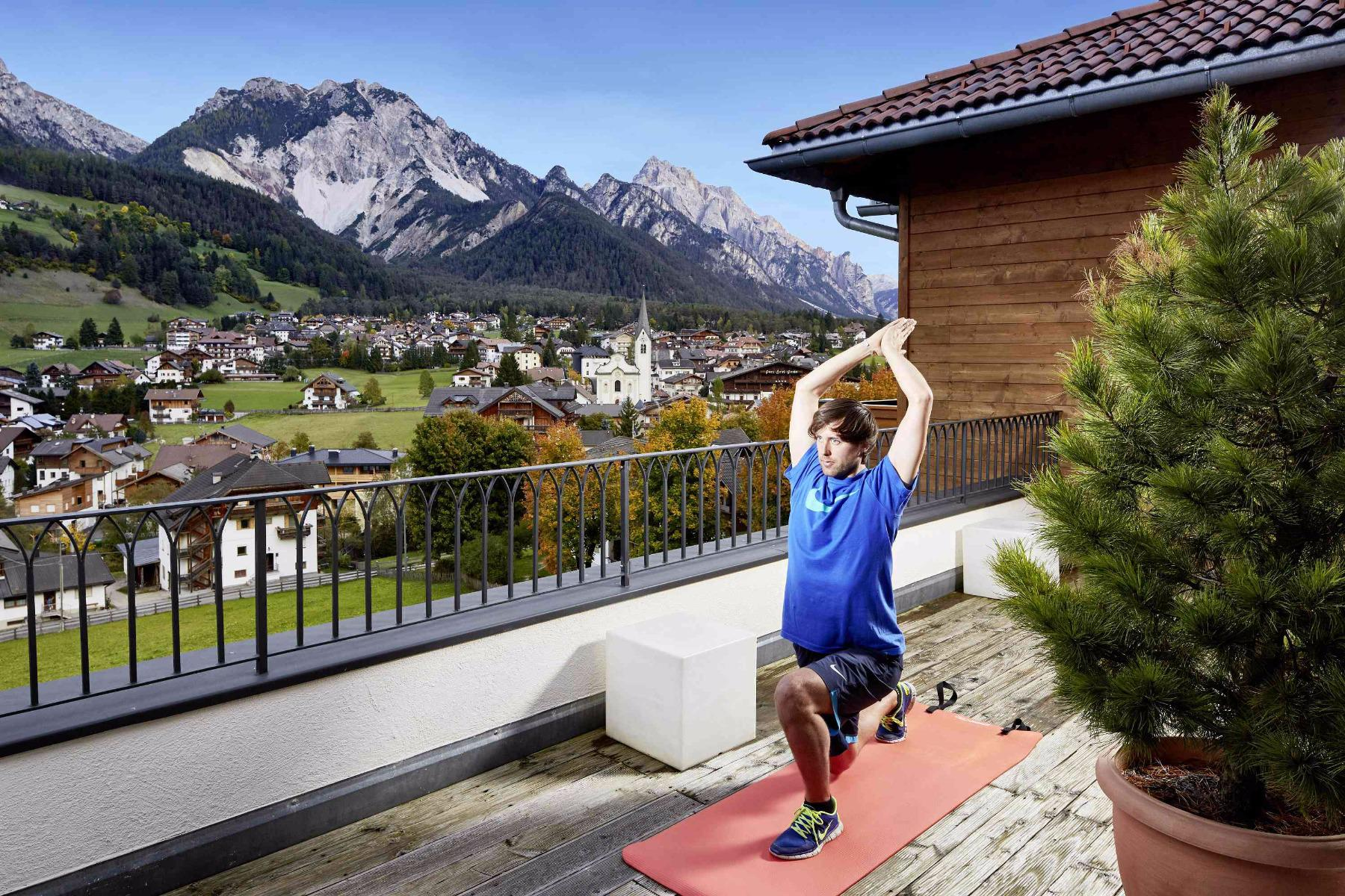 Pilates with Willi in the Fit & Fun week programm