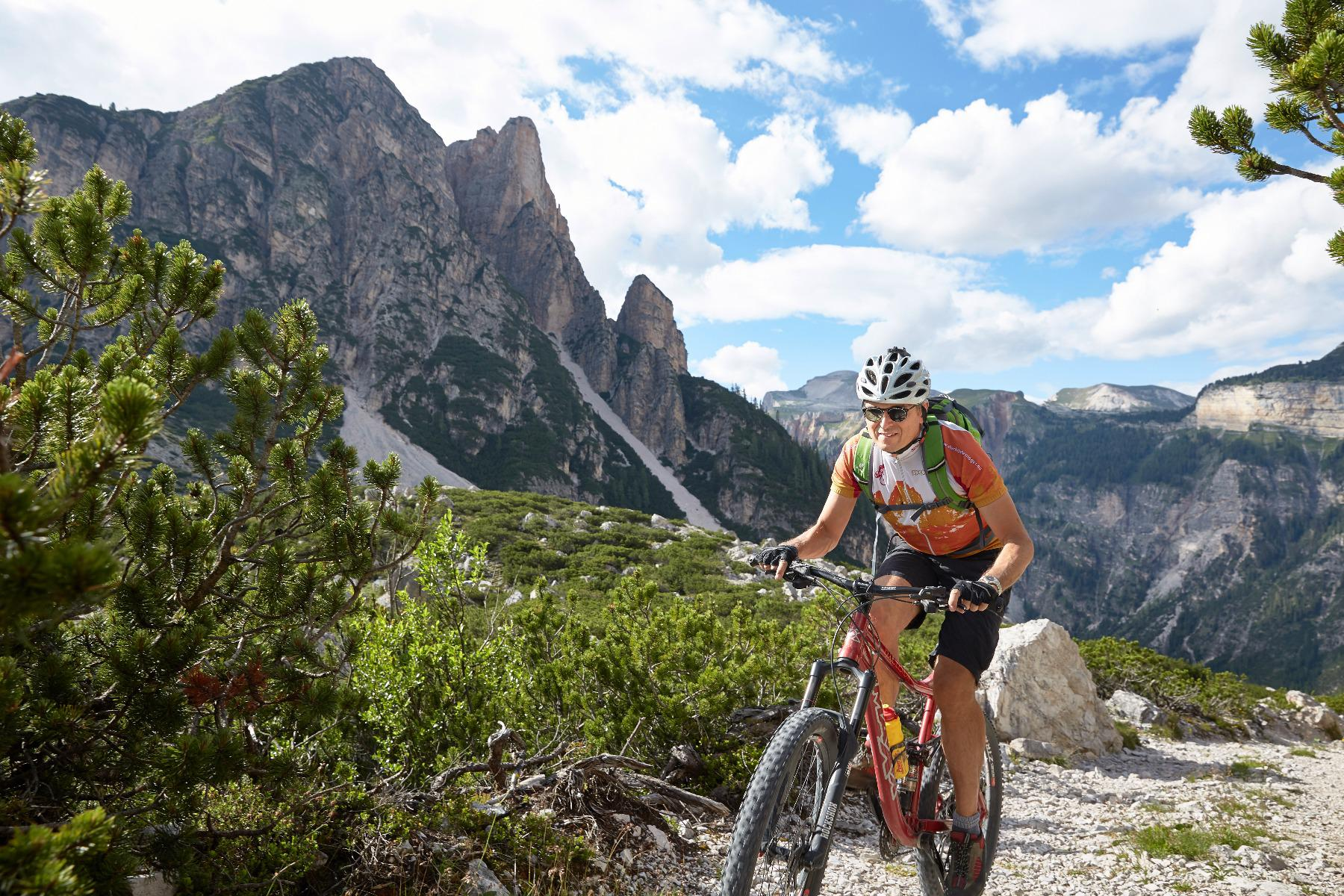 Mountain bike tour with Mr. Call week programm